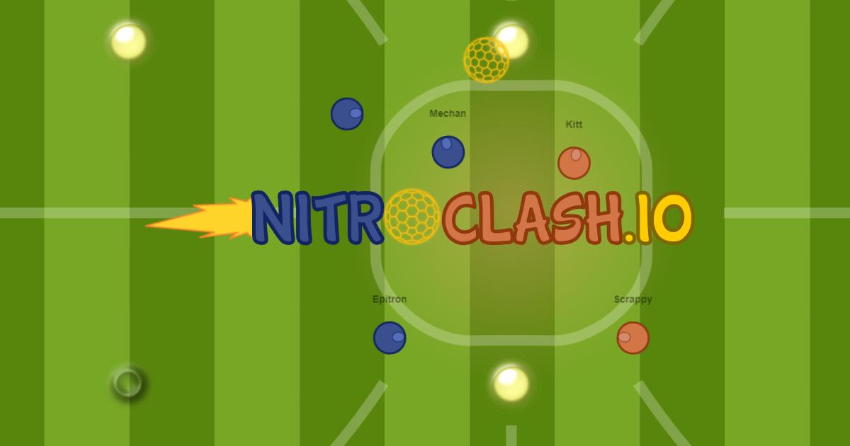 nitroclash io multiplayer soccer io game